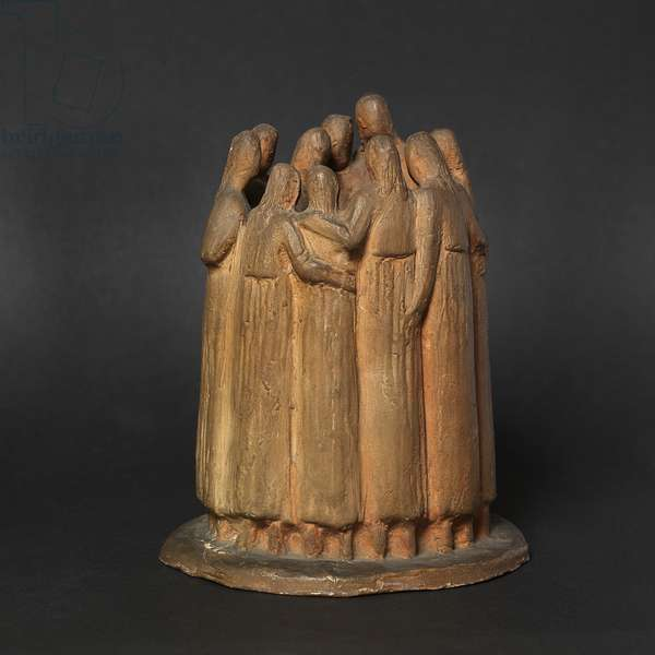 College Students, 1927 (terracotta)
