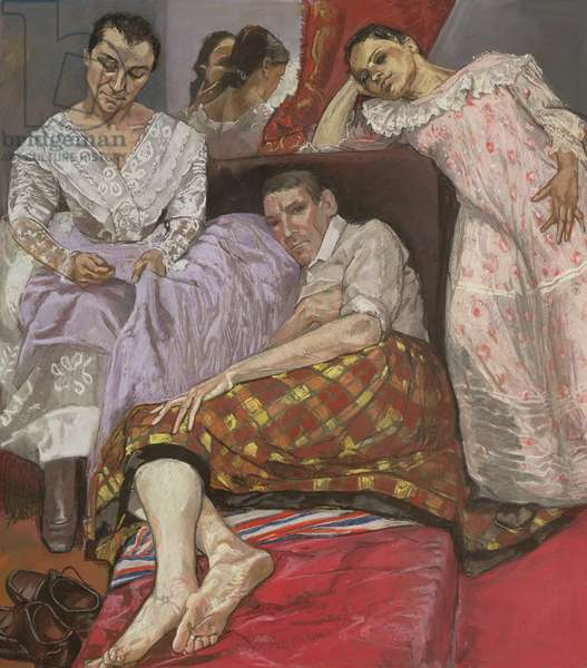 The Company of Women, 1997 (pastel on paper mounted on aluminium)