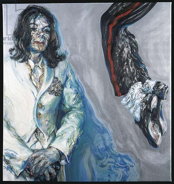 Michael Jackson, 2004 (oil on canvas)