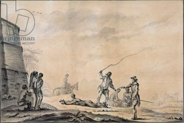 The Four Stakes, c.1785 (pen and washes on paper)