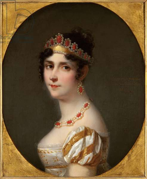 Portrait of Empress Josephine (oil on canvas)