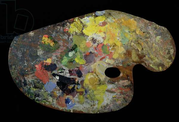 Monet's palette (wood)