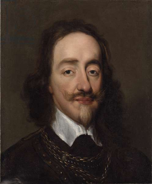 Portrait of King Charles I (oil on canvas)