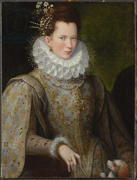 Portrait of a Lady, 1590s (oil on canvas)