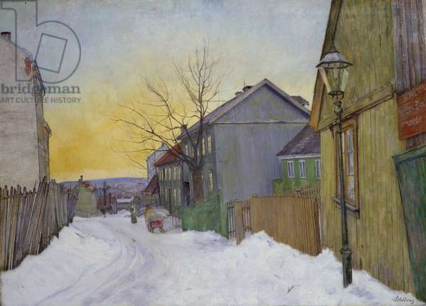 Sagene, 1911 (oil on canvas)