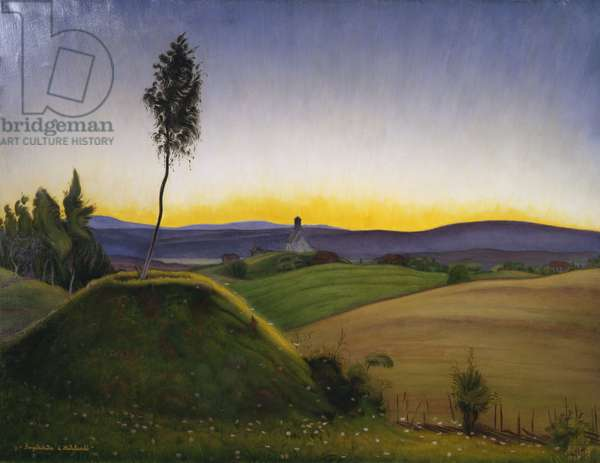 Historic Landscape, 1925 (oil on canvas)