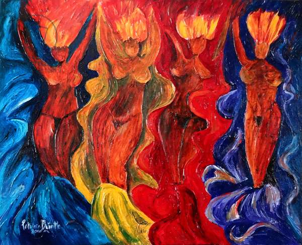 Carnavalesque, 2010 (acrylic on canvas)