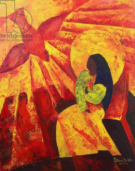 Annunciation, 2011 (acrylic on canvas)