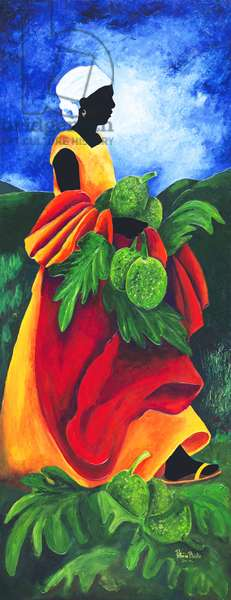 Season Breadfruit, 2011, (acrylic on canvas)