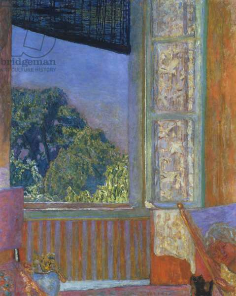 The Open Window, 1921 (oil on canvas)