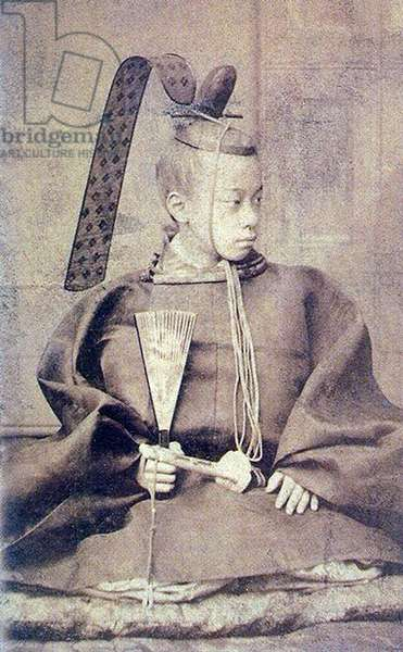 Japan: Tokugawa Akitake (1853 - 1910) was a younger brother of the Japanese Shogun Tokugawa Yoshinobu.