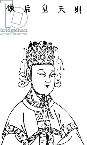 China: Wu Zetian ( 624-705), Empress Regnant of the Zhou Dynasty (690-705).