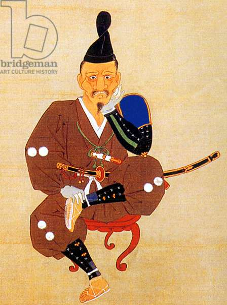 Japan: Tokugawa Ieyasu (1543-1616) after his defeat at Mikatagahara by the forces of Takeda Shingen, 6 January 1573