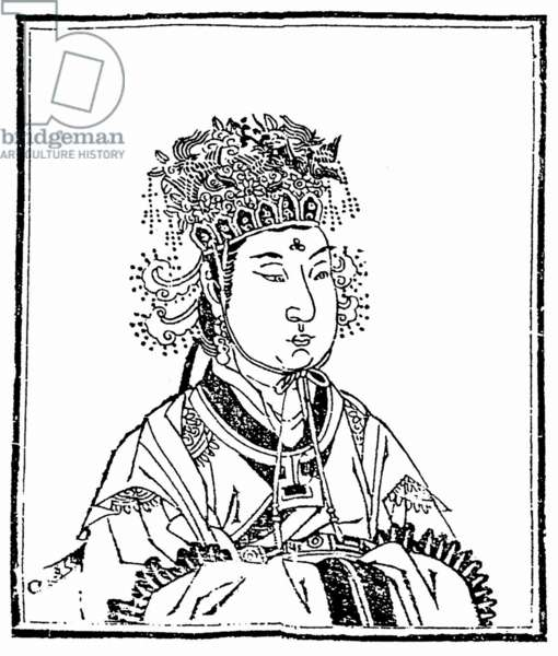 China: Wu Zetian ( 624-705), Empress Regnant of the Zhou Dynasty (690-705)