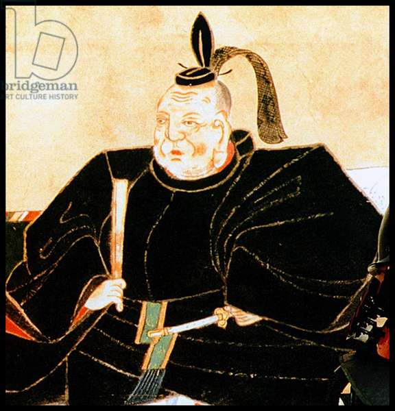 Japan: Tokugawa Ieyasu (1543-1616), founder and first ruler of the Tokugawa Shogunate (1600-1868)
