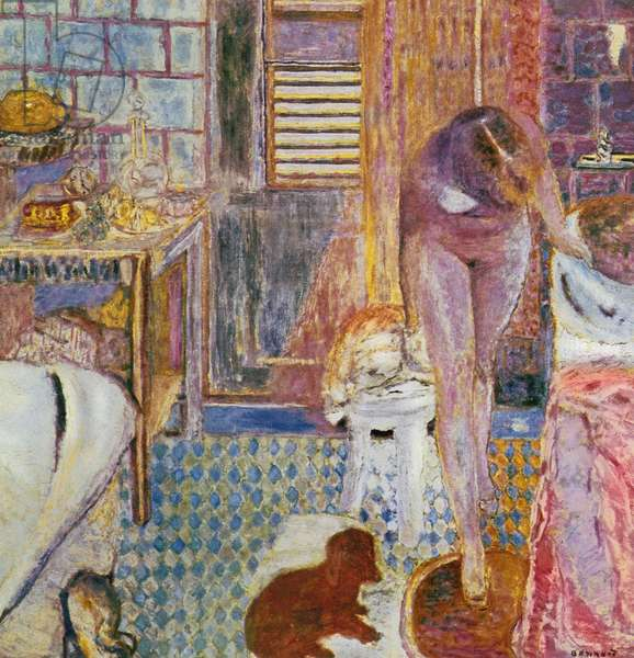 The Bathroom, 1932 (oil on canvas)