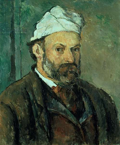 Self portrait, 1875-77 (oil on canvas)