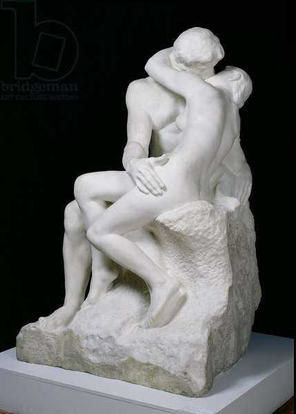 The Kiss, 1888-98 (marble)