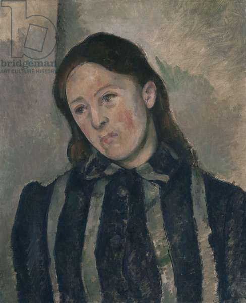 Portrait of Madame Cezanne, 1890-92 (oil on canvas)