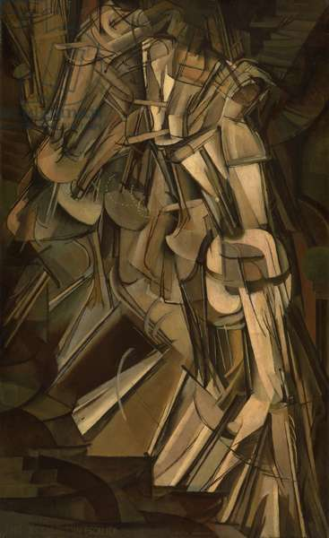 Nude Descending a Staircase, No.2, 1912 (oil on canvas)