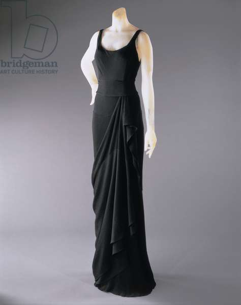 Evening Dress, Winter 1931-32 (riboulding rayon crepe) (see also 450938)