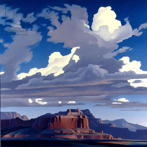 Sweeping Clouds, 1989 (oil on canvas)