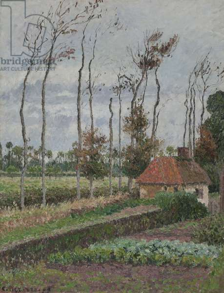 Landscape at Varengeville, Gray Weather, 1899 (oil on canvas)