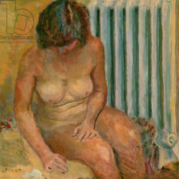 Nude by the Radiator, 1928 (oil on canvas)