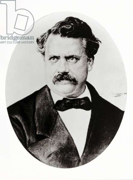 Portrait of Louis Vuitton (1821-1892), founder of the House of Vuitton