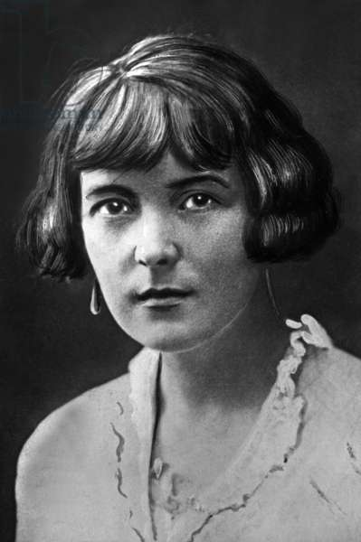 Kathleen Beauchamp aka Katherine Mansfield (1888-1923) english writer here c. 1915