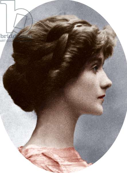 Gabrielle Chasnel called Coco Chanel (1883-1971), french fashion designer, here before 1914