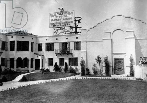 Walt Disney Studio Hyperion, Hollywood Silver Lake District, worked in 1925-1941