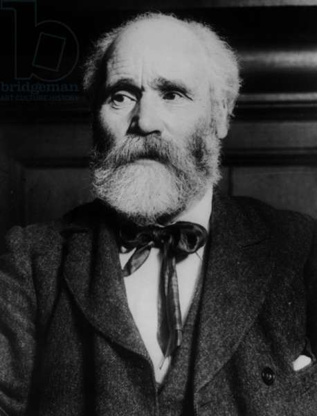 James Keir Hardie (1856-1915) scottish politician, socialist, 1st president of Labour Party, c. 1909