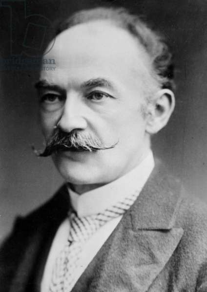 Thomas Hardy (1840-1928) english poet, c. 1910