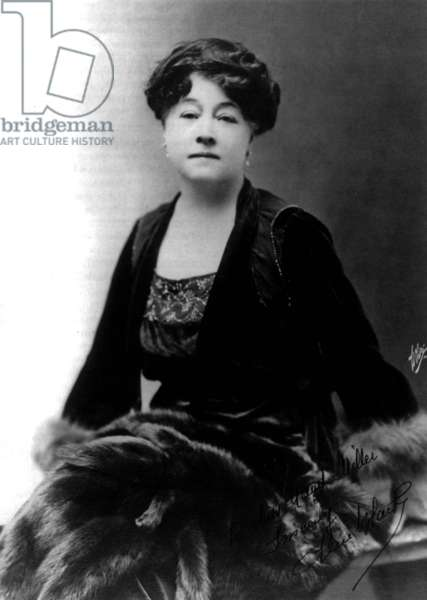 Alice Guy-Blache (1873-1968) French pioneer filmmaker who was the first female director in the motion picture industry