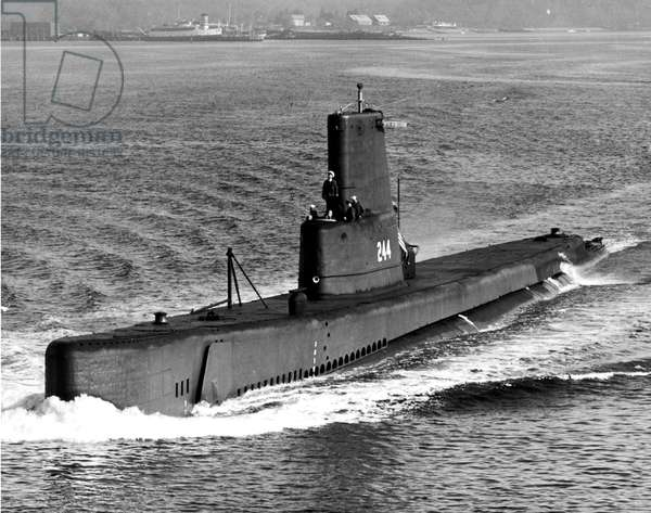 Cavalla SS244 american submarine which was used in Pacific during second world war and in the 50's