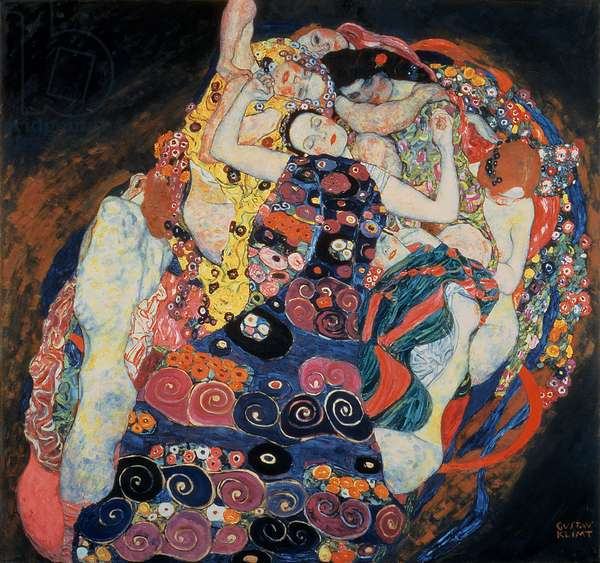 The Maiden, 1913 (oil on canvas)