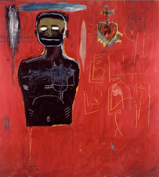 Untitled, 1984 (acrylic and mixed media on canvas)