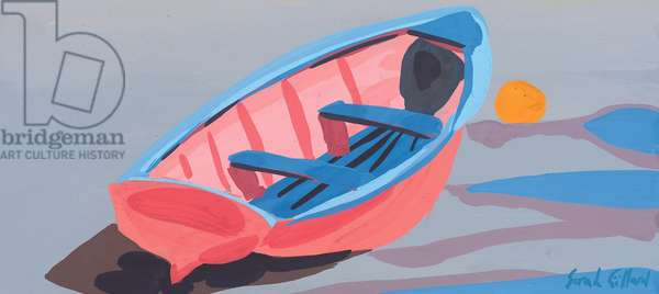 Tide Out, 2009 (gouache on paper)