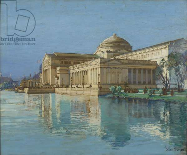 Palace of Fine Arts (oil on panel)