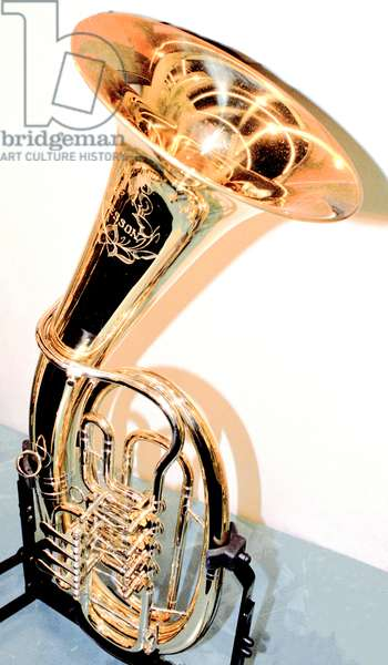 Brass baritone by Besson