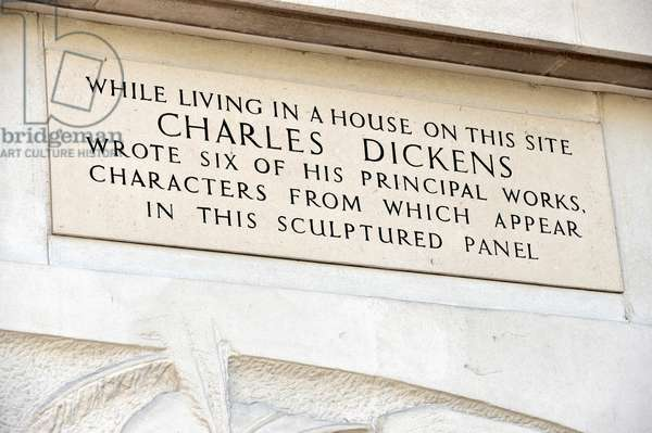 Charles Dickens panel
