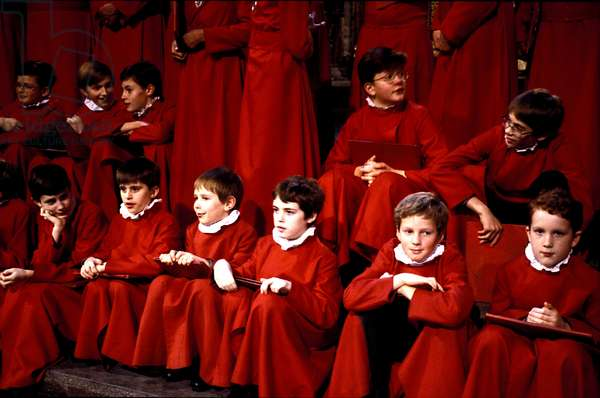 CHOIRBOYS of Westminster Abbey