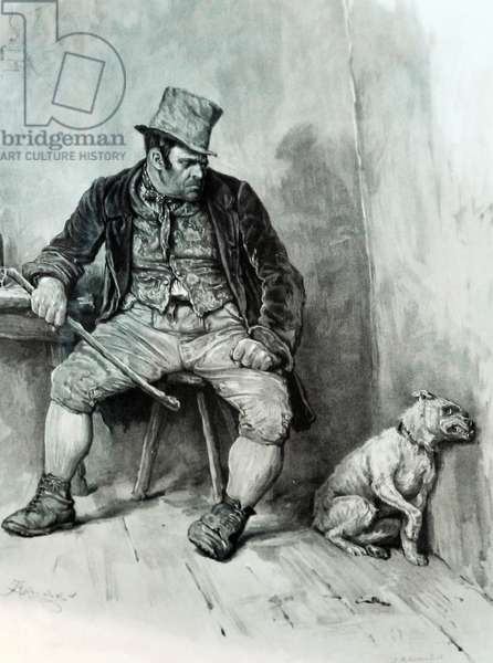 Oliver Twist, by Charles Dickens - illustration