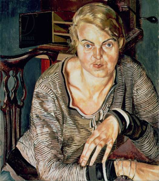 Portrait of Patricia Preece, 1933 (oil on canvas)