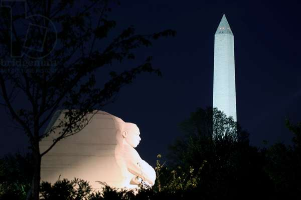 Martin Luther King Memorial, Potomac Park, Washington, 2011 (white granite)