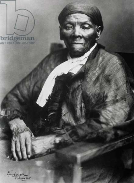 Harriet Tubman (c.1820-1913) (b/w photo)