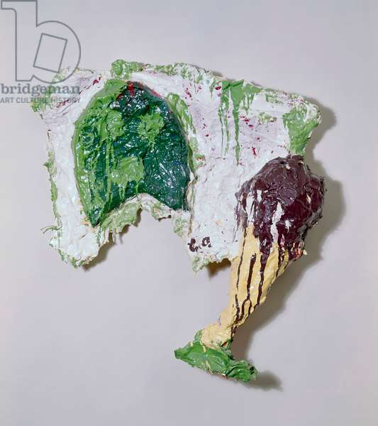 Abstraction by Claes Oldenburg, sculpture, born 1929