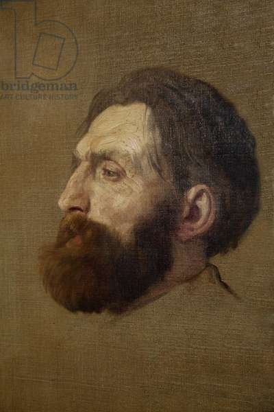 Portrait of Rodin, 1882 (oil on canvas)
