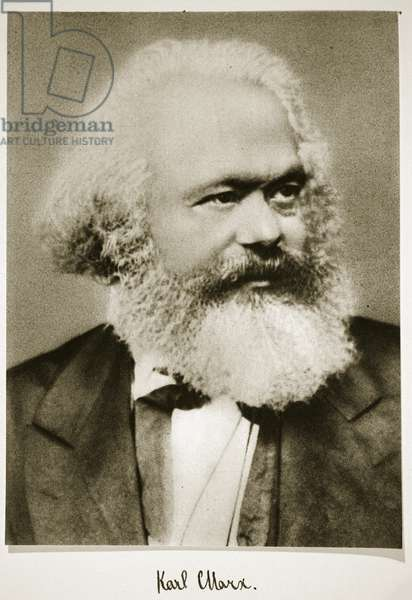 Karl Marx (photogravure)